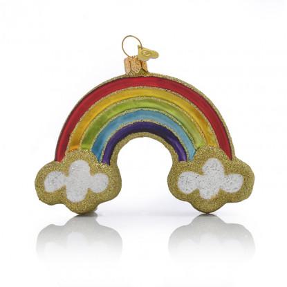 Rainbow Gold Glitter